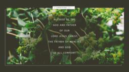 Blessed be The God 16x9 820cc94b 6cc4 4121 a1e7 66bc80a1c024 PowerPoint image