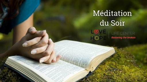 Meditations Soir : Good Friday