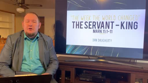 The Servant King Palm Sunday April 5, 2020