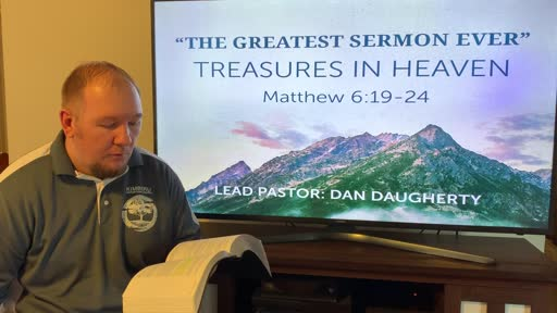 Treasures in Heaven March 29, 2020