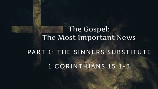 The Sinners Substitute