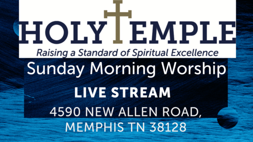 Sunday Morning Worship (Live Stream)