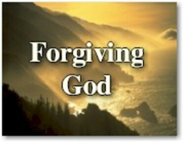 Forgiving God