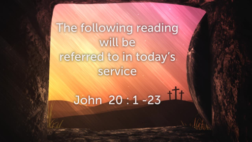 6pm scattered service Sunday 12th April