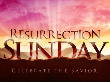 Sunday April 12, 2020