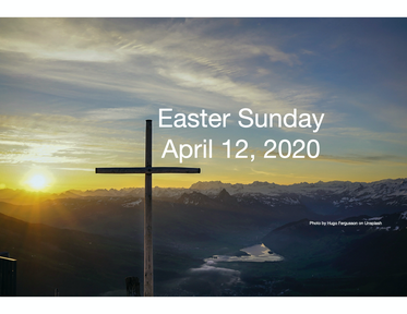 Easter Sunday April 12, 2020