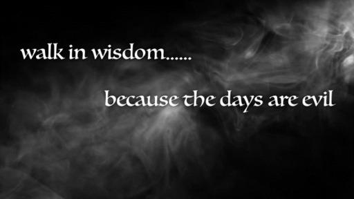 20-04-19 Walk In Wisdom