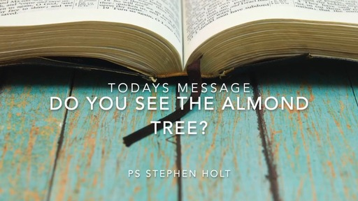 19.04.20 - Do you see the almond tree? - Ps Stephen Holt