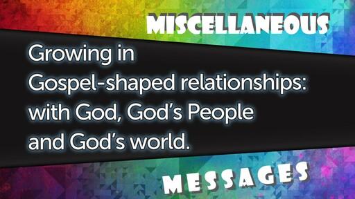 Misc Messages
