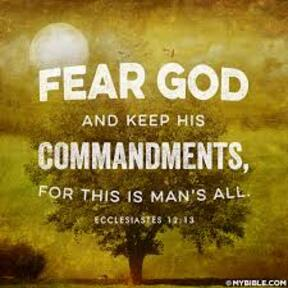 Fear God and obey His Commandments