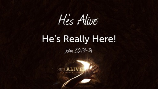 He's Alive & Really Here?!?!