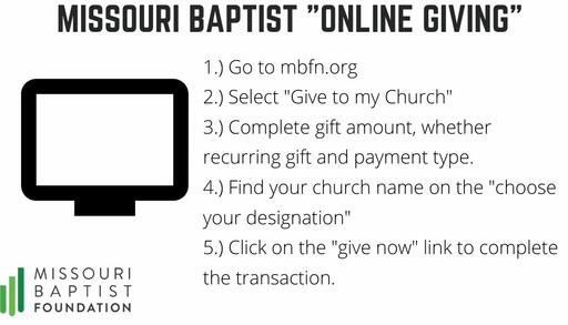 Online Giving Card