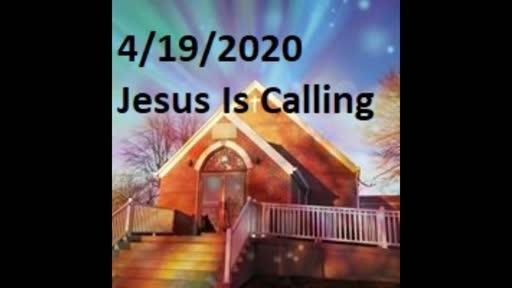 4-19 Jesus Is Calling (Duet)