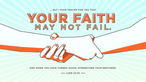 Luke 22:32 verse of the day image