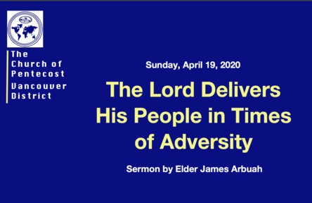 The Lord Delivers His People in Times of Adversity