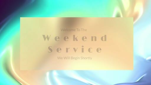 Weekend Live Stream