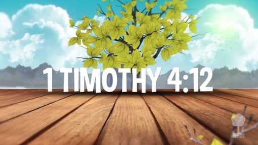 1 Timothy 4:12 Worship Video