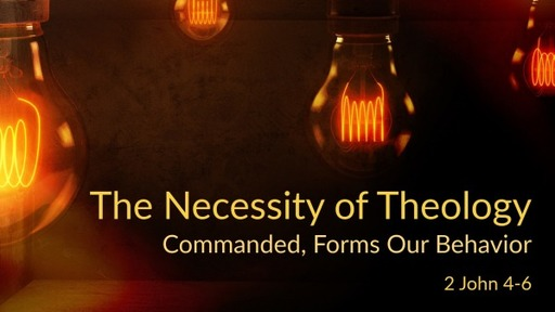 The Necessity of Theology