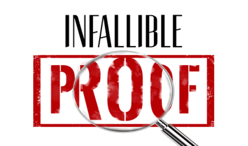 """2020-04-26 Infallible Proof: """"The First Day"""" - Part 1 - James Miller, Jr"""