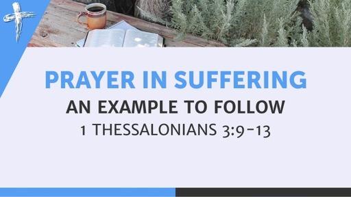 Prayer in Suffering