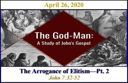 The Arrogance of Elitism - Pt. 2