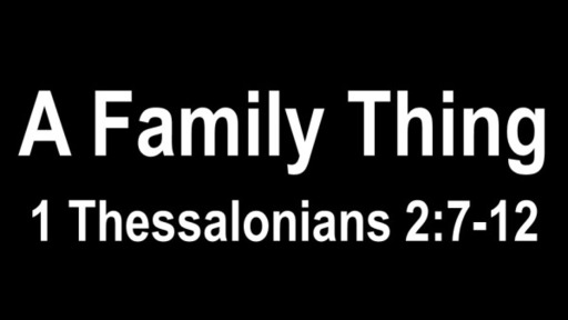 Study in 1 Thessalonians