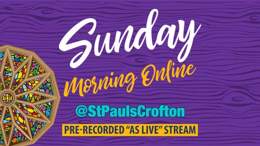 Morning Service (Online) - Rachael Boyden 26Apr20