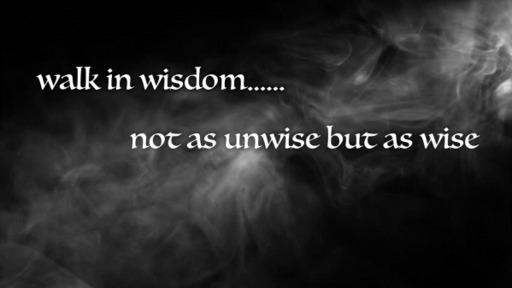 Walk In Wisdom #3