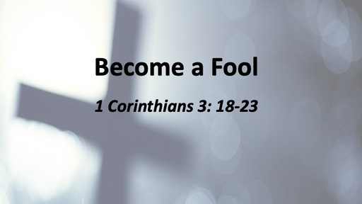 Become a Fool