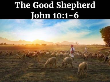 Sunday Service 05/03/2020: The Good Shepherd-John  10