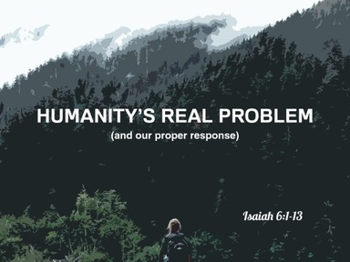 Humanity's Real Problem