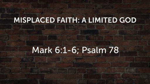 Misplaced Faith: a limited God