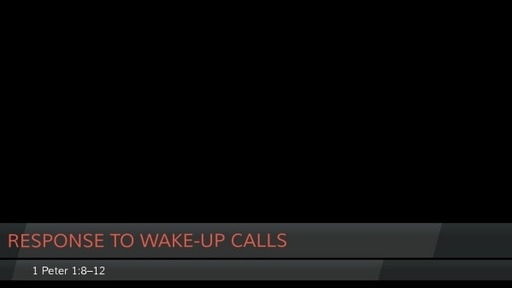 Response to Wake-Up Calls