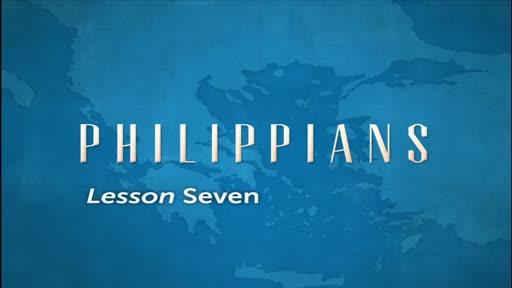 Philippians Lesson 7