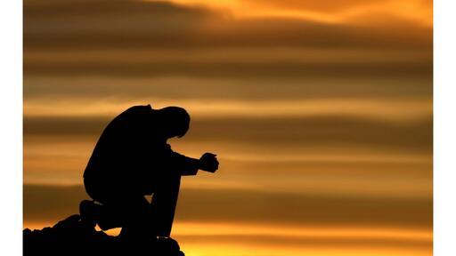 Prayer Sillouhette