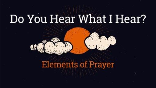 Elements of Prayer