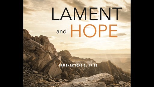 Psalms: Lament and Hope