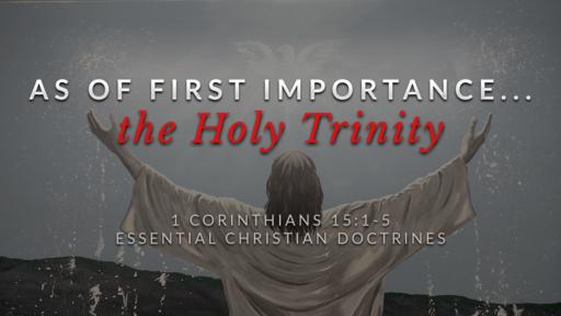 18. The Holy Trinity