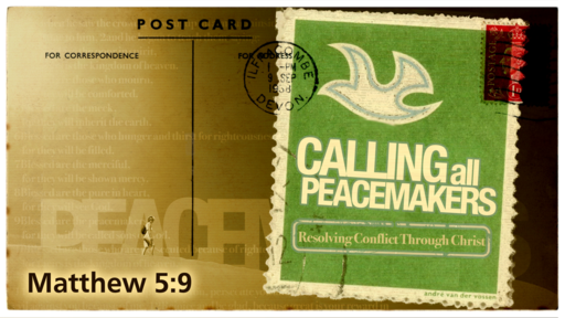 2020-05-03 PM (TM) - COVID-19: Calling All Peacemakers