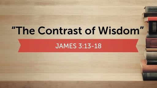 """The Contrast of Wisdom"""