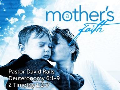 """""""A Mother's Faith"""""""