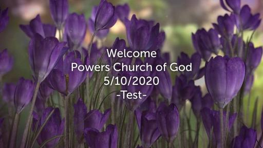 "Sunday Service - ""Test"" - May 10, 2020"