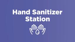 Hand Sanitizer Station  image 1