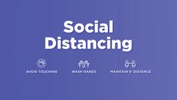 Social Distancing  image 1