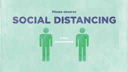 Social Distancing Slides 1 image