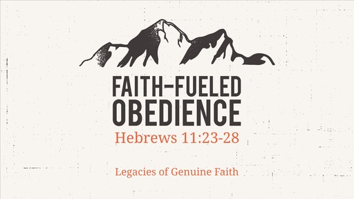 Faith-Fueled Obedience