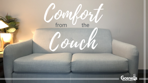 Comfort from the Couch
