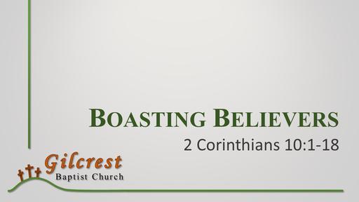 Boasting Believers