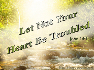 God's Comfort For Troubled Hearts