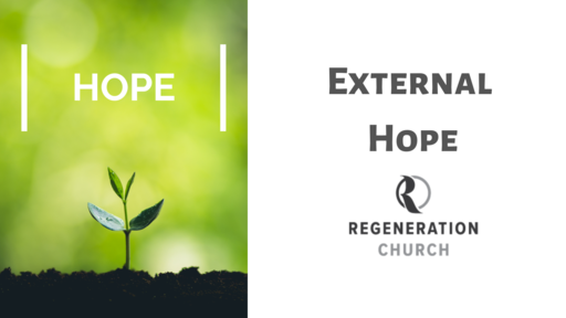 """External Hope"" - May 17"
